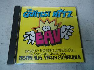 CD Erste Allgemeine Verunsicherung EAV - The Grätest Hitz 1996