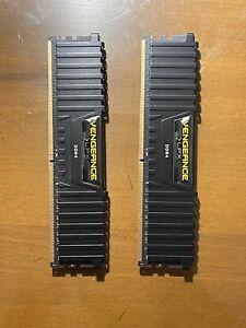 Corsair VENGEANCE LPX 16GB (2x8GB) DDDR4 DRAM 3200MHz Memory Module Kit - Black