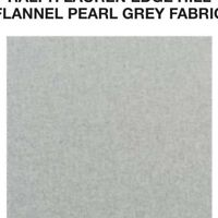 Wool effect Flannel Per m Grey Marl Stripe Woven Soft Touch Brushed Fabric