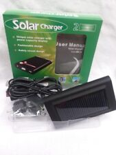 1 PC  LDB SOLAR MOBILE CHARGER 2 PORTABLE ENERGY CHARGERS-SOLARCHARGER2-SBC10
