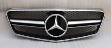 MERCEDES BENZ E CLASS W212 E350 E550 E63 AMG LOOK SEDAN GRILL 2010-2013 NEW
