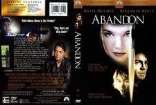 ABANDON  Katie Holmes Benjamin Bratt NEW DVD Box FREE Post  mmoetwil@hotmail.com