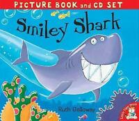Preschool Story Picture Book & CD, Bedtime Story - SMILEY SHARK - NEW