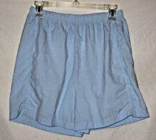 ATHLETIC WORKS, Women's Gym/Running Shorts, Size Medium, Light Blue