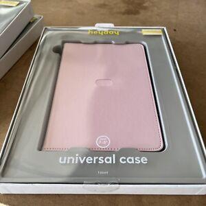 "Heyday Universal Case for 7-8"" Tablet (Apple, Samsung, Etc) - Pink -"