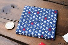 Unisex Pocket Square Cotton Handkerchief Sailor Summer Nautical Gift Handmade