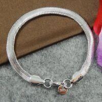 Damenarmband Schmuck 20cm - Damen Armband / NEU pl. mit Sterlingsilber DA164 Neu