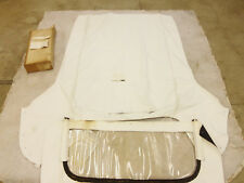 NOS 1957-1958 Cadillac Buick White Convertible Top 57 58 window deville limited