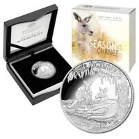 2018 Kangaroo Seasons Change - Summer 1oz Silver Proof Coin