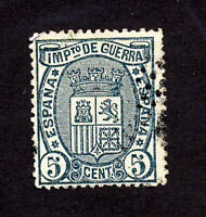 Spain Stamps # MR3 VF Used Unlisted Color Variety