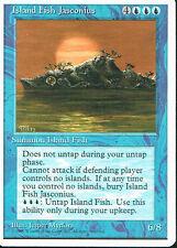MAGIC THE GATHERING 4TH EDITION BLUE ISLAND FISH JASCONIUS