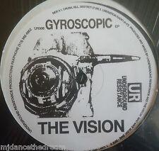 "THE VISION ~ Gyroscopic EP ~ 12"" Single USA PRESSING"