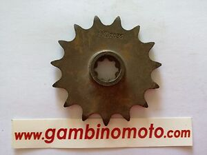 Pinion For Motorcycle Model F2036 Number Of Teeth 15