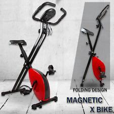 Folding Magnetic Upright Bicycle Training Fitness Stationary Flywheel X-Bike RFR