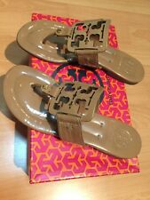 Authentic Tory Burch Miller Sandals Size 37.5