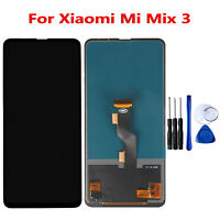 For Xiaomi Mi Mix 3 LCD Display Touch Screen Digitizer Assembly Kit + Tools Set