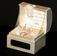 Wedding gift keepsake  personalised present for the happy couple #10