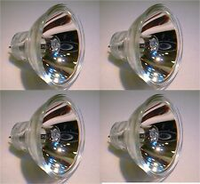 LOT OF 4 - longer life ELC LAMP BULB 24V 250W Halogen MR16 HLC for American DJ