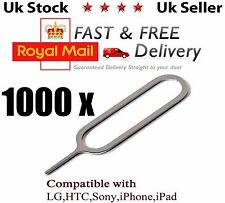 1000x Sim Card Tray Ejector Removal Tool Eject Pin Key SAMSUNG LG iphone 5 6 7