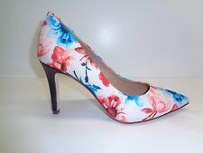 Antonio Melani Size 7 M MCBETH Floral White Blue Pumps Heels New Womens Shoes