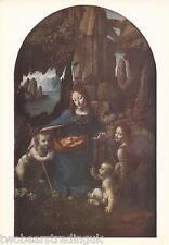 Photo Card: Leonardo Da Vinci - Virgin Of The Rocks (1495) (National Gallery)