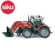 SIKU NO.3653 1:32 MASSEY FERGUSON 5455 TRACTOR & LOADER FORKS Dicast Model Toy
