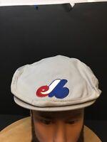 Vintage BECO Montreal Expo's MLB Baseball Gary Golfer Mesh Snapback Hat Cap RARE