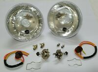 Lucas Headlamp Headlight Halogen Conversion Kit Land Rover Series 1 2 2a 3 86 88