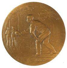Sports bowling petanque BOULES bronze 50mm by Rivet
