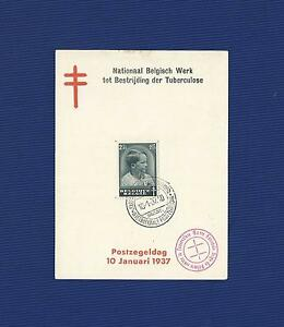 Nationaal Belgisch Werk tot Bestrijding der Tuberculose 10-1-1937