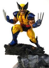 Marvel Comics Kotobukiya Danger Room Sessions Wolverine Yellow Suit VHTF Statue
