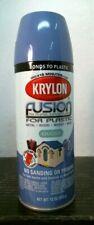 Krylon 02333 Blue Hyacinth Gloss Fusion Spray Paint, FREE SHIPPING