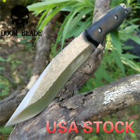 Fixed Blade Knife Bushcraft Knives Survival Straight Tactical Hunting Camping
