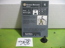 Axis & Allies Contested Skies Gurkha Riflemen with card 16/45