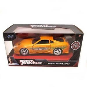 Jada Fast & Furious: Brian's Toyota Supra (Orange) 1/32 Scale