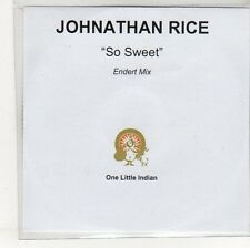 (EO923) Johnathan Rice, So Sweet - DJ CD