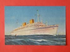 LLOYD TRIESTINO nave VICTORIA ship Trieste Klodic vecchia cartolina *