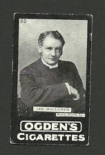 Ian Maclaren Vintage Ogden's Cigarette Card Australia Rev John Watson Author