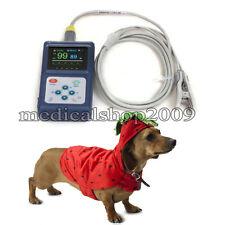 Veterinary Vet Spo2  Monitor,pulse oximeter,with free software,biger LCD screen