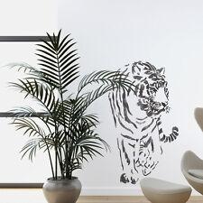 Wall Stencils Tiger Large stencil Template For Wall Graffiti Canvas art DIY