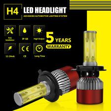 2PCS H4 1050W 157500LM 6000K LED Headlight Bulbs Hi/Low Conversion Kit Head Lamp