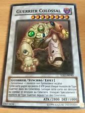 Carte Yu-Gi-Oh! 5DS1-FR043 Guerrier Colossal (Super Rare)