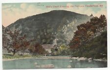 EARLY 1912 Will's Creek Entering The Narrows Cumberland Maryland MD