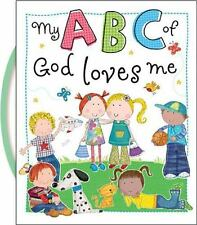 My ABC of God Loves Me by Thomas Nelson- NEW board book alphabet