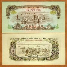 South Vietnam, 10 Xu, 1966 (1975), P-37, Unc > Salt Production