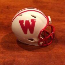 Wisconsin Badgers 1978-1987 throwback custom pocket pro helmet Big Ten