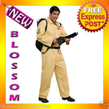 C806 Licensed Mens Ghostbusters DELUXE Halloween Fancy Dress Adult Costume