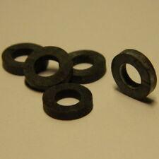 50 Stk. Neoprene - Unterlegscheiben  Ø 6,4mm Dichtscheiben für Bechernieten