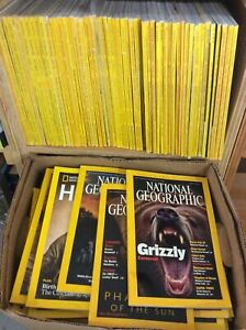 Lot of 8 National Geographic Magazine Random Pick 1970s - 2010s No duplicates
