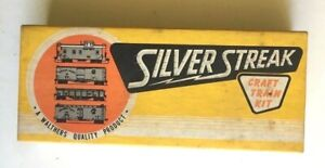 Vintage Walthers Silver Streak Southern Pacific 259 Side Window Caboose Kit #116